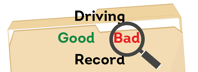 Driving records are kept by state DMV's