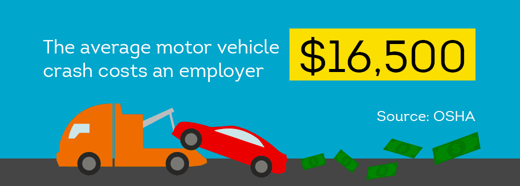 Accidents caused by your company vehicle can cost significant monies
