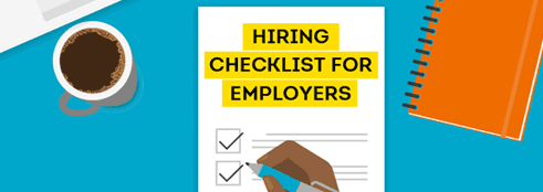 Hiring Process Checklist for Small Business Employers